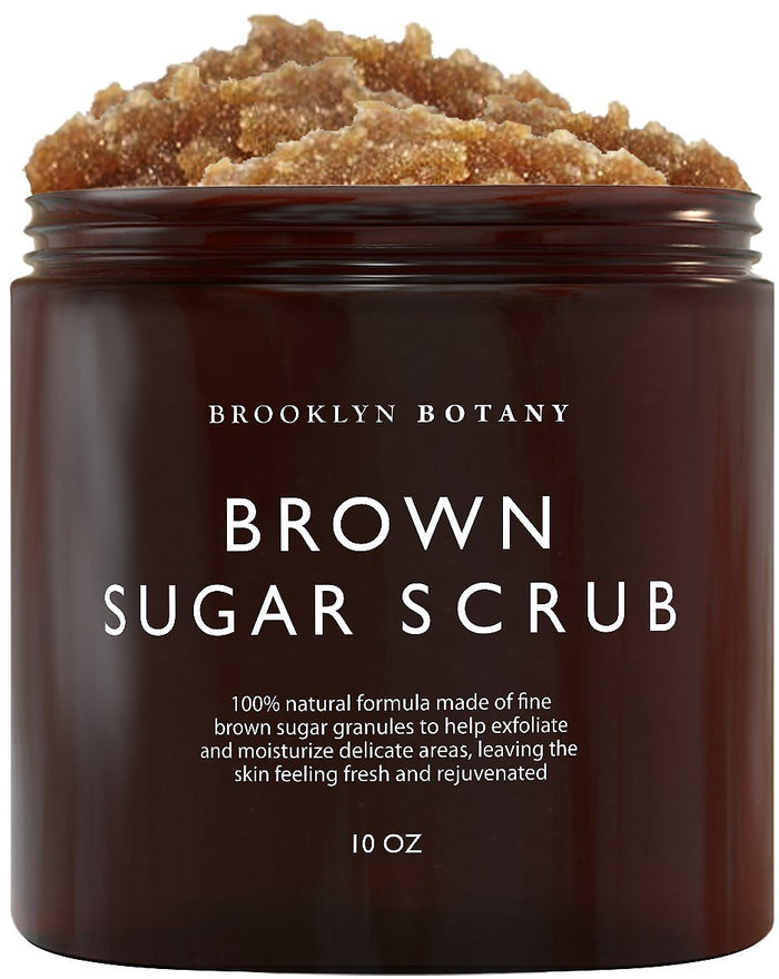 Brown Sugar Body & Face Scrub - 10 oz