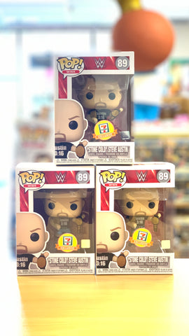 Funko POP! Stone Cold Steve Austin 7 Eleven Exclusive