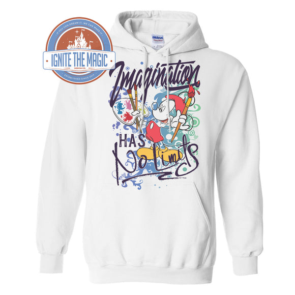 Imagination Has No Limits - Unisex Long Sleeves, Hoodie, Sweatshirt, and Jerseys - Ignite the Magic