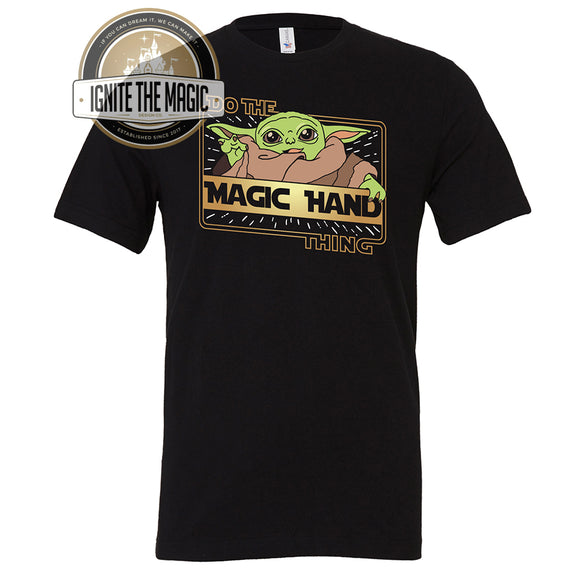 Do The Magic Hand Thing - The Kid - Unisex Tees + Tanks