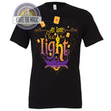 At Last I See the Light Revamp - Unisex Tees + Tanks - Ignite the Magic