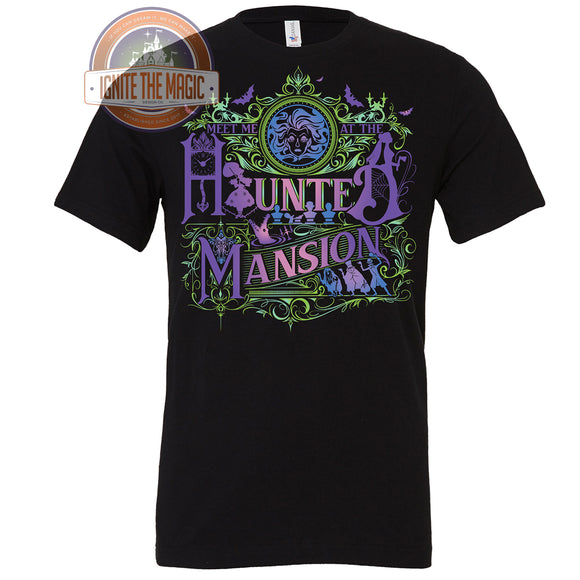 Meet Me at the Haunted Mansion - Youth Tees + Tanks - Ignite the Magic
