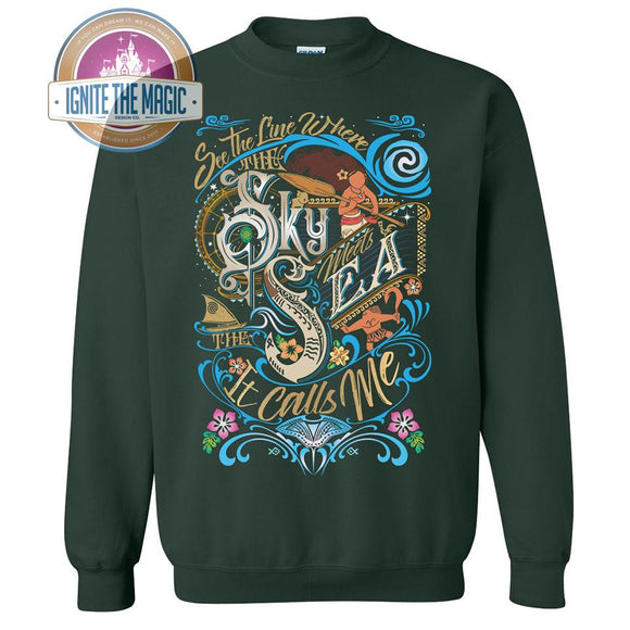 It Calls Me - Unisex Sweatshirts - Ignite the Magic
