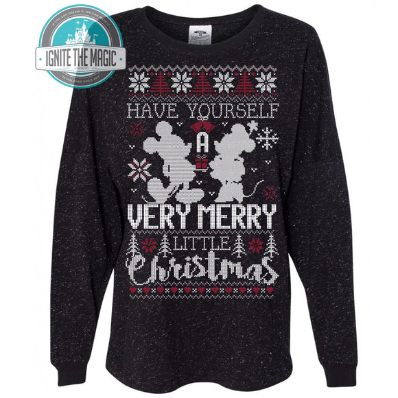 Have Yourself a Merry Little Christmas - Unisex Long Sleeve+ Raglan - Ignite the Magic