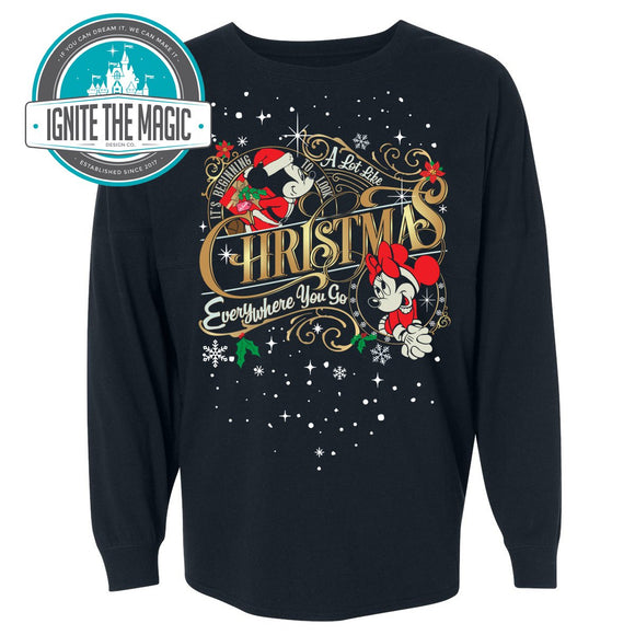 It's Beginning to look a Lot Like Christmas - Unisex Long Sleeve - Ignite the Magic