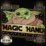 Do The Magic Hand Thing - The Kid - Unisex Tees + Tanks - Ignite the Magic