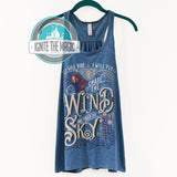 Chase the Wind & Touch the Sky - Women's Tanks + Youth Tanks - Ignite the Magic