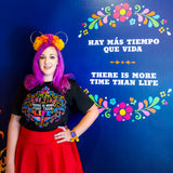 More Time than Life Coco Unisex Short Sleeve Tees - Ignite the Magic