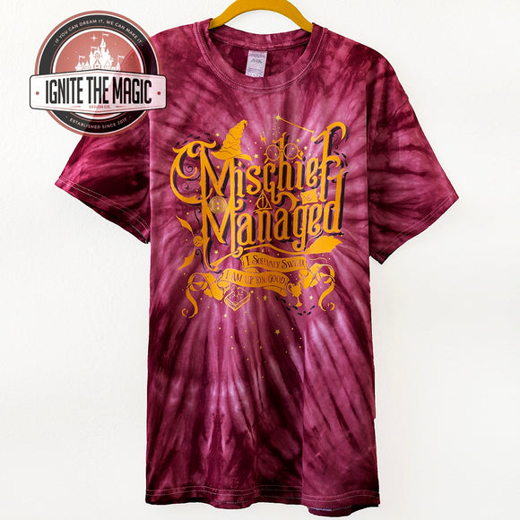 RETIRING - Mischief - Unisex Tees, Tanks, + Tie Dye Tees - Ignite the Magic