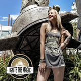 I Love You to Galaxy's Edge and Back - Women's Tanks + Tees - Ignite the Magic