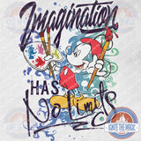 Imagination Has No Limits - Youth Tees + Tanks - Ignite the Magic
