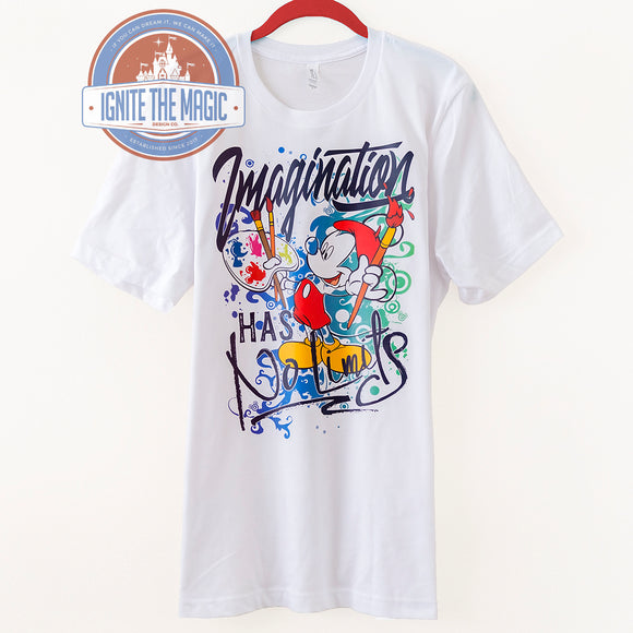 Imagination Has No Limits - Unisex Tees - Ignite the Magic
