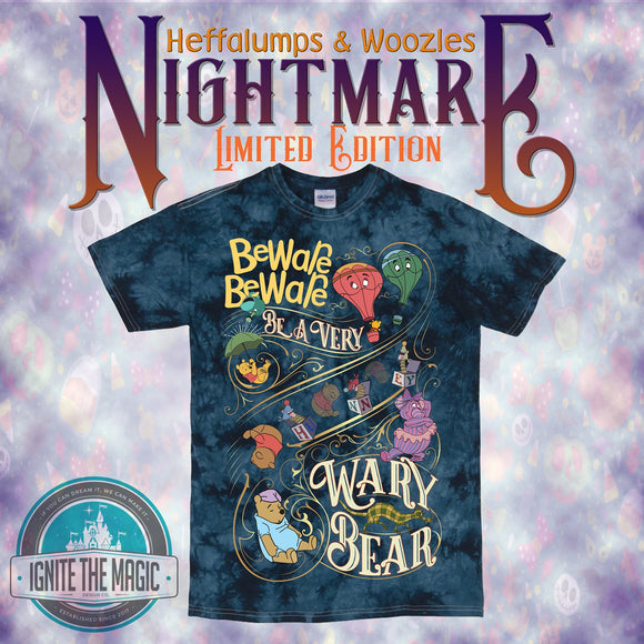 Beware Beware Be a Very Wary Bear - Unisex Tees - Ignite the Magic