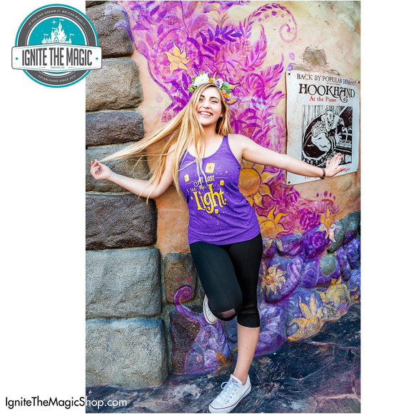 At Last I See the Light - Women's Tanks - Ignite the Magic