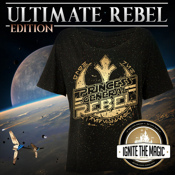 Ultimate Rebel Edition - Unisex Crew Necks + Women's Tees