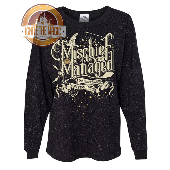 RETIRING - Mischief - Unisex Jerseys, Sweatshirts + Women's Tanks + Tees - Ignite the Magic