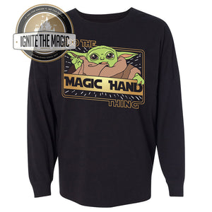 Do The Magic Hand Thing - The Kid - Raglans, Long Sleeve Tees, Jerseys, Sweatshirts - Ignite the Magic