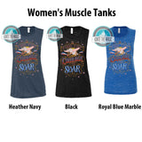 Find the Courage to Soar - Women's Tanks + Tees - Ignite the Magic