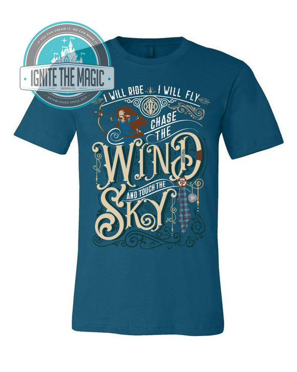 Chase the Wind & Touch the Sky - Unisex Tees - Ignite the Magic