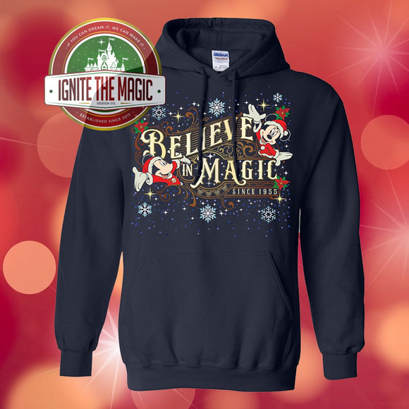Believe in Magic - Christmas Edition - Unisex Sweatshirts and Hoodies - Ignite the Magic