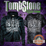 Meet Me at the Haunted Mansion - Tombstone Edition - Unisex Tie Dye Tees + Hoodies - Ignite the Magic