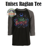 Hello Beastie - Unisex Long Sleeve Tees, Jerseys, Sweatshirts + Raglan Tees - Ignite the Magic