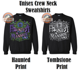 Meet Me at the Haunted Mansion - Unisex Long Sleeve - Jerseys, Sweatshirts, Hoodies - Ignite the Magic