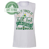 [REVAMP] Faith, Trust, Starbucks - Women's Tees + Tanks
