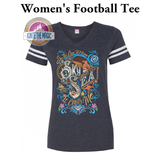 [OCEAN EDITION] It Calls Me - Unisex + Women's Football Tees - Ignite the Magic