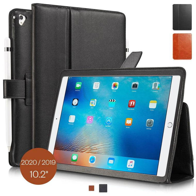 iPad 2020/2019 Hülle Leder London 10.2