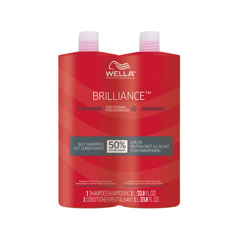 Wella Brilliance Liter Duo (Fine/Normal)
