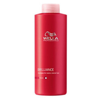Wella Brilliance Shampoo 1L  Coarse