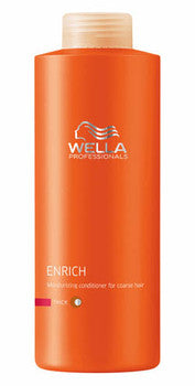 Wella Enrich Conditioner 1L - Coarse