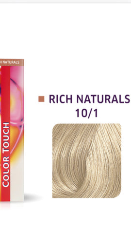 10/1 Colour Touch Hair Colour