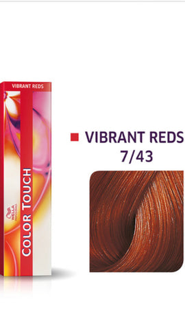 7/43 Colour Touch Hair Colour