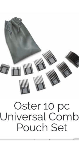 Oster 10 Piece Comb Universal Set