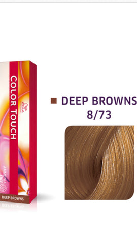 8/73 Colour Touch Hair Colour