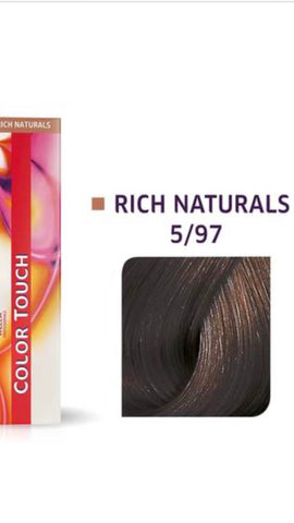 5/97 Colour Touch Hair Colour