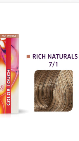 7/1 Colour Touch Hair Colour