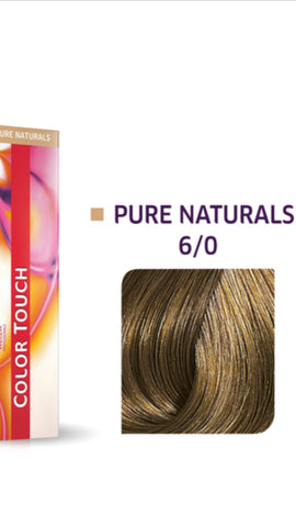 6/0 Colour Touch Hair Colour