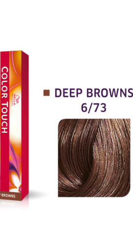 6/73 Colour Touch Hair Colour