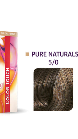 5/0 Colour Touch Hair colour