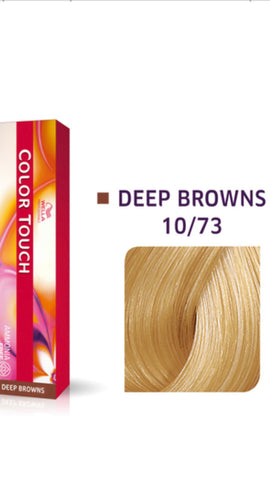 10/73 Colour Touch Hair Colour