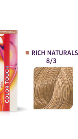 8/3 Colour Touch Hair Colour