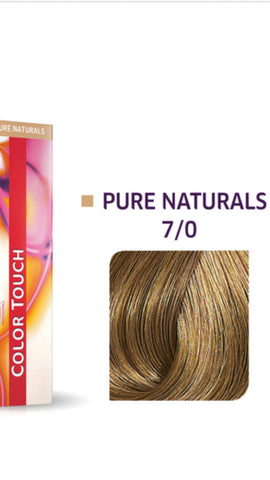 7/0 Colour Touch Hair Colour