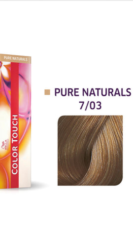 7/03 Colour Touch Hair Colour