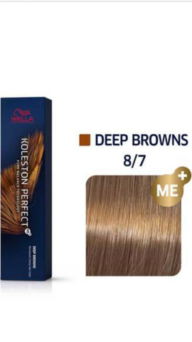 8/7 Koleston Perfect hair colour