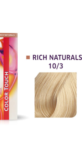 10/3 Colour Touch Hair Colour