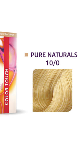 10/0 Colour Touch Hair Colour