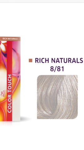 8/81 Colour Touch Hair Colour